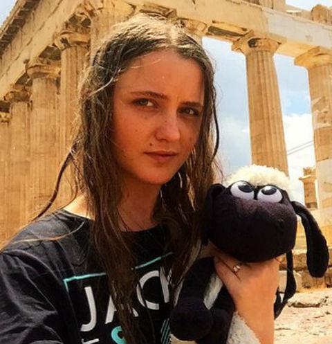 Наталья Краско в Афинах