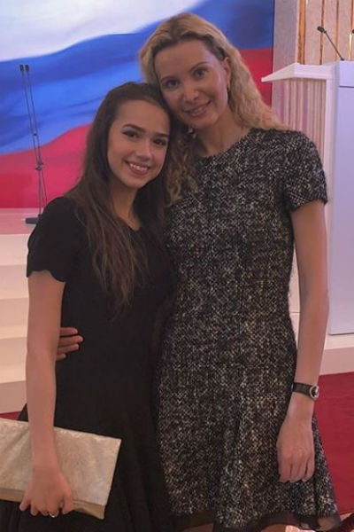 Алина Загитова и Этери Тутберидзе в Кремле