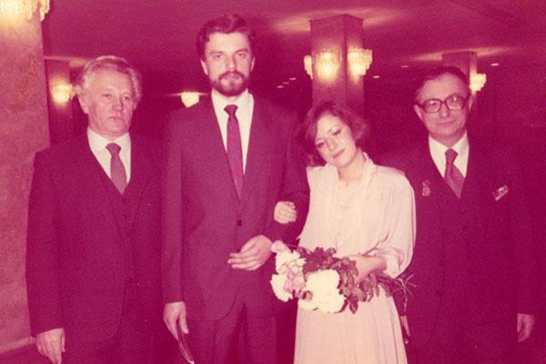 Свадьба Елены Чекаловой и Леонида Парфенова была очень скромной