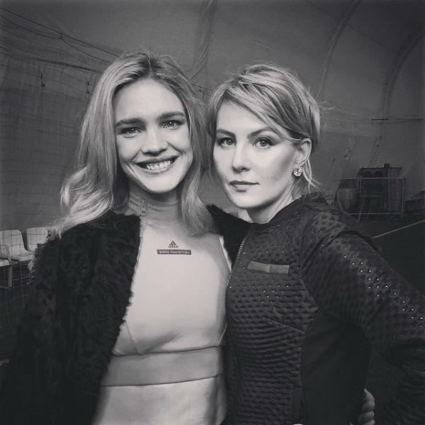 Наталья Водянова и Рената Литвинова