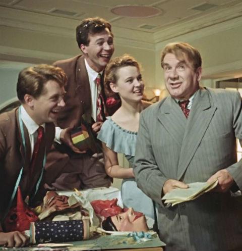 «Карнавальная ночь» вышла на экраны в 1956 году