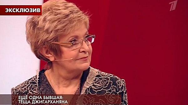 Мать Виталины Цымбалюк-Романовской Лидия Ивановна