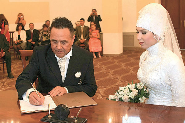 Третья свадьба Ибрагимова прошла по всем правилам