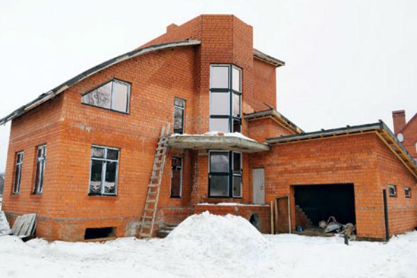 Недостроенный дом Елки в Сергиевом посаде