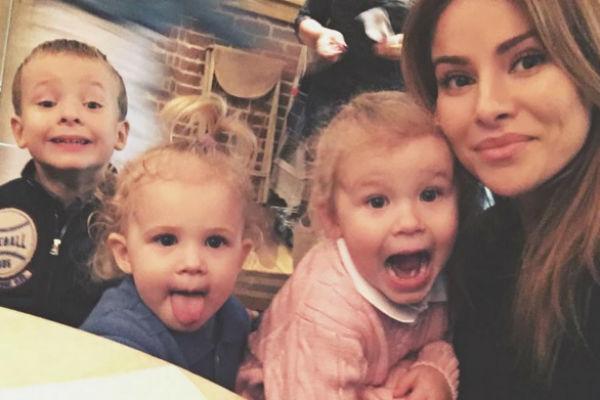 Тата Бондарчук с детьми