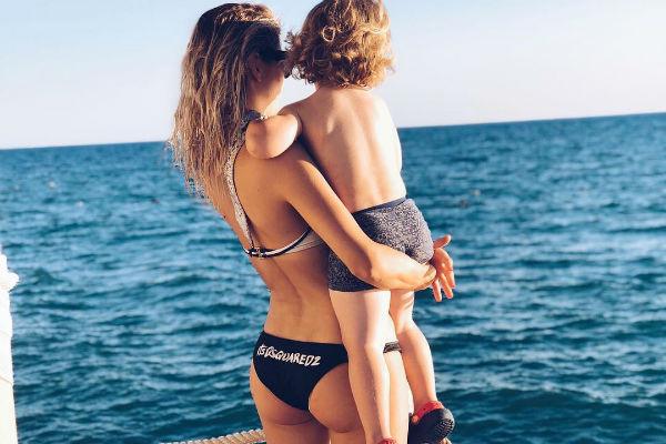 Наталья Бардо с сыном
