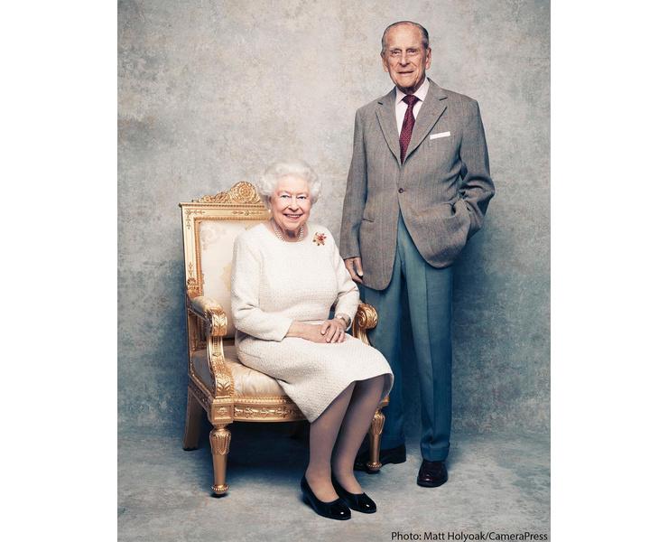 В ноябре Елизавета и ее супруг Филипп, герцог Эдинбургский, отметили 70 годовщину со дня свадьбы.