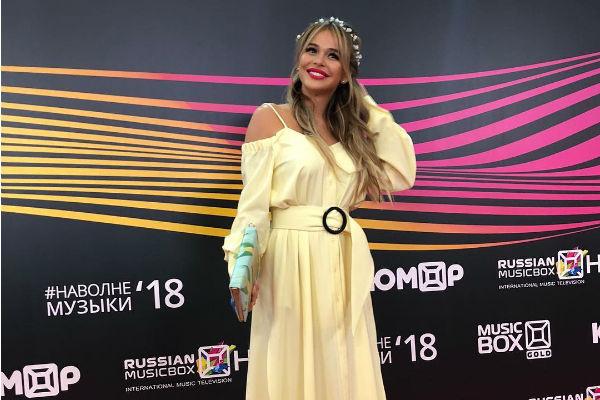 Анна Хилькевич на премии «Musicbox»