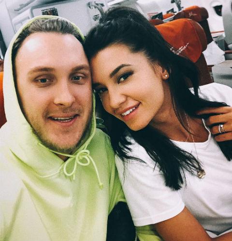 Рэпер T-killah и Мария Белова