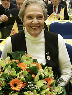 Римма Маркова до глубокой старости оставалась цветущей женщиной