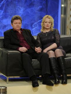 Константин Евдокимов с гражданской женой Снежаной