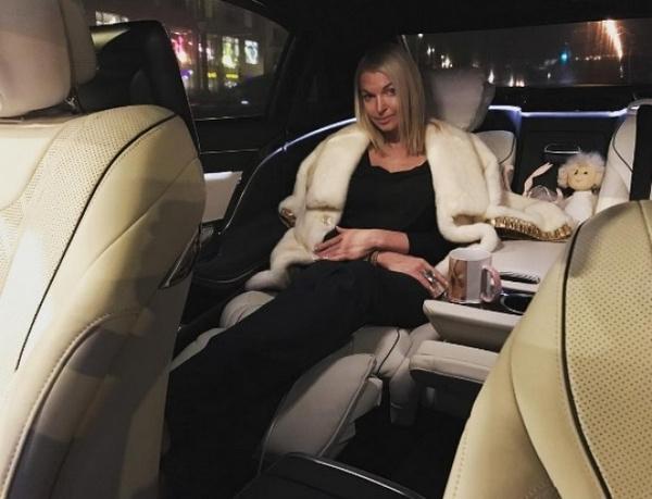Анастасия Волочкова едва не лишилась своей роскошной машины