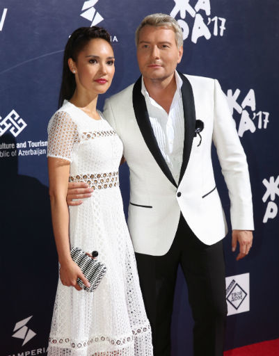 Николай Басков с Алиной Август