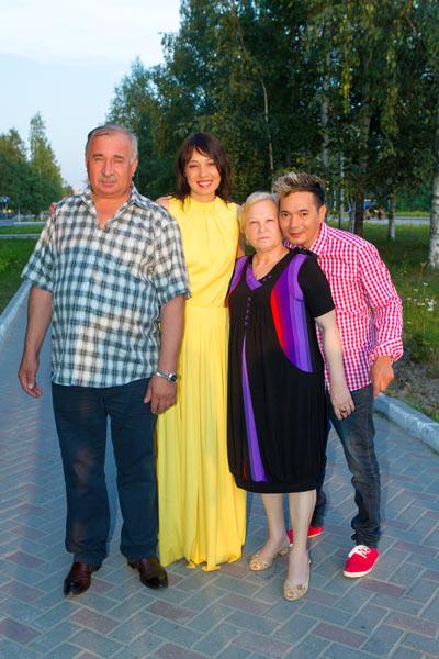 С семьей Саши Куцевол у Олега сложились прекрасные отношения