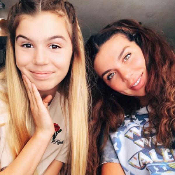 Анна Седокова с дочкой Алиной