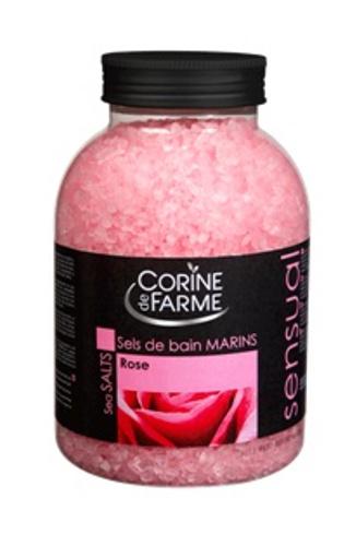 Соль для ванн Corine de farm c ароматом розы