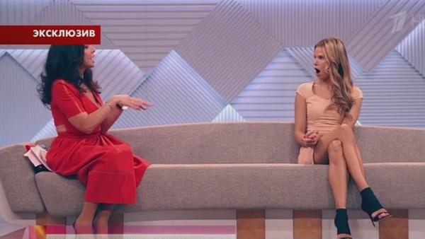 Ирина Аманти выясняет отношения с Ольгой Мартыновой