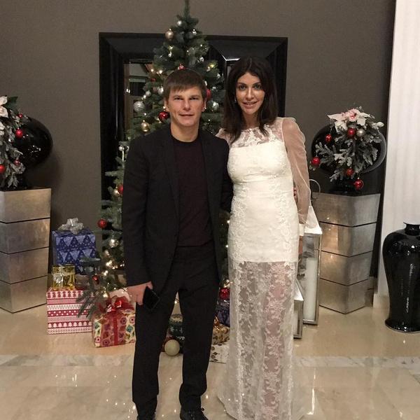 Андрей и Алиса Аршавины вместе с 2012 года