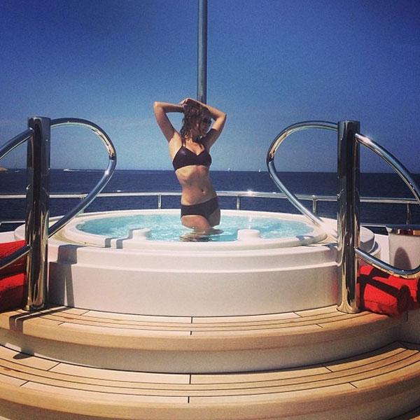 Находясь на яхте, можно купаться и в пресной воде