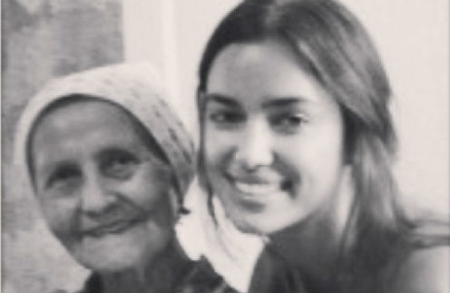 Ирина с бабушкой Галией Гайнисламовной