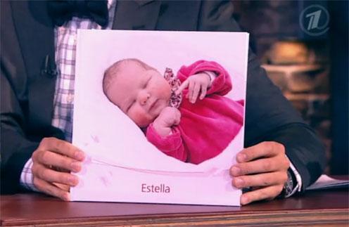 Это фото было сделано в первые дни жизни маленькой Эстеллы