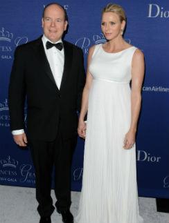 Принц Альбер и княгиня Шарлен