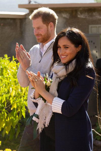 Гарри и Меган поженились 19 мая 2018 года