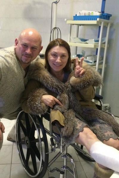 Телеведущая получила травму на шоу «Без страховки»