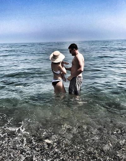 Платон вместе с родителями отдыхал в Испании