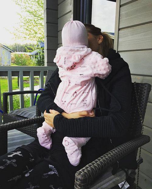 Ксения Бородина и ее малышка Теона