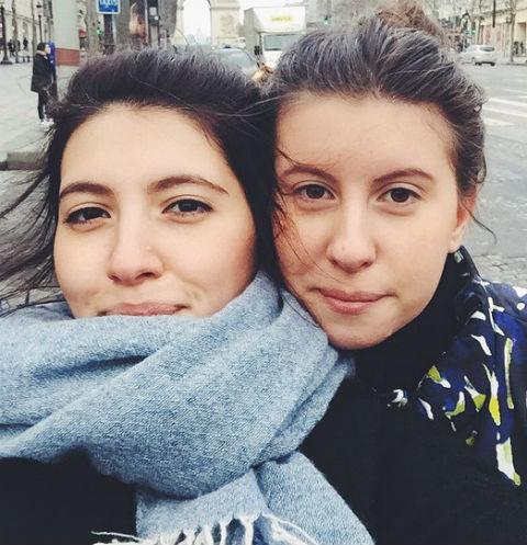 Инга и Софико Меладзе