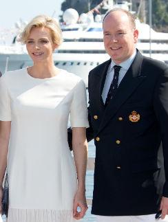 Княгиня и князь Монако