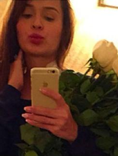 Анна Калашникова после родов
