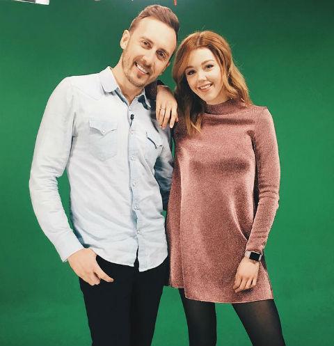 Юлианна Караулова и Андрей Черный