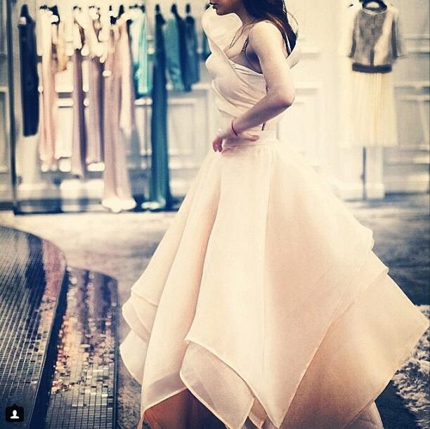 Свадебное платье от Насти Задориной
