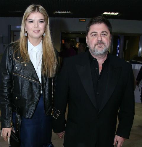 Александр Цекало с женой Викторией