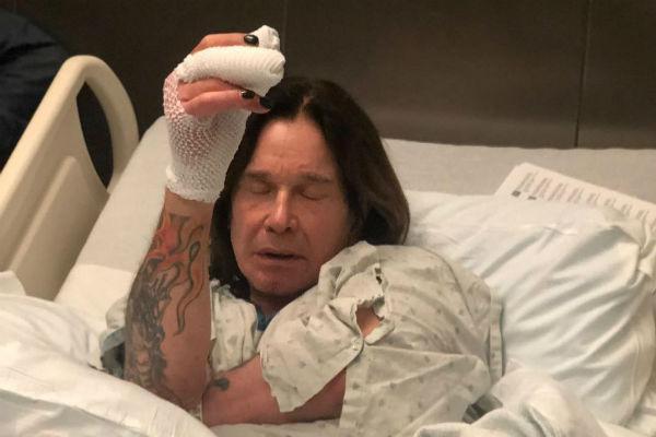 Оззи Осборн попал в больницу с инфекцией