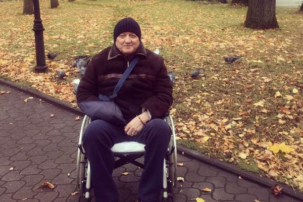 Отец Анастасии Волочковой находится в пансионате для пожилых людей