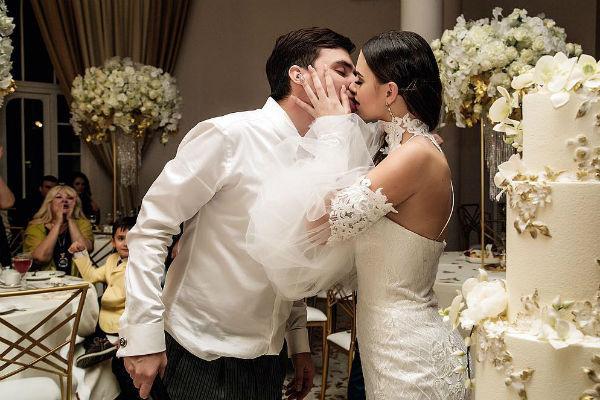 Свадьба влюбленных была по-настоящему шикарной