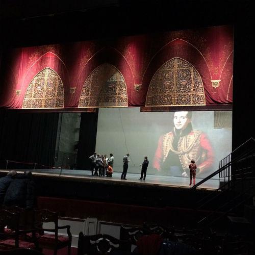Сцена Большого театра