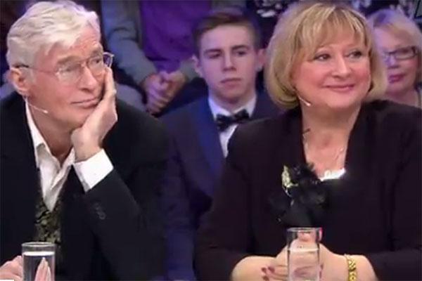 Борис Щербаков с женой в гостях у Андрея Малахова