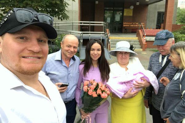 Сергей Сафронов с семьей