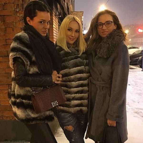Стелла Барановская, Лера Кудрявцева и Анфиса Чехова
