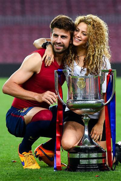 Шакира познакомилась с футболистом на съемках клипа