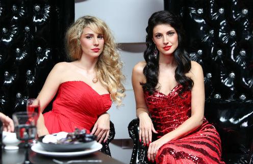 Анастасия Макеева и Ева Анри