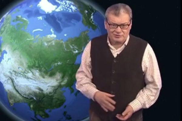 На протяжении двадцати лет Александр Вадимович ведет прогноз погоды