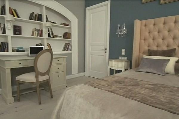Интерьер квартиры Васильевой в основном в классическом стиле