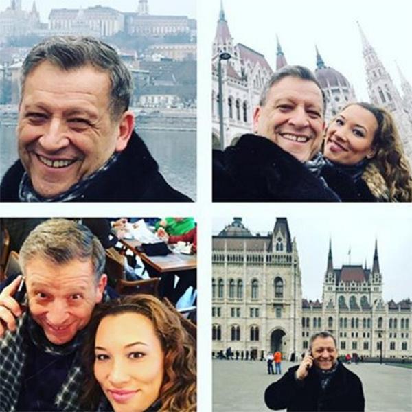 Борис Грачевский и Екатерина Белоцерковская во время путешествия в Венгрию