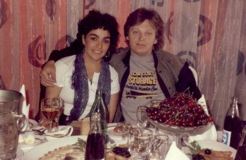 Юрий Антонов в 1985-м, как мог, баловал заморскую гостью