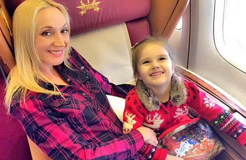 Кристина Орбакайте с дочкой Клавой отправляются в путешествие
